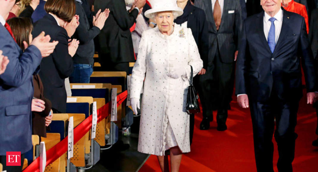 Buckingham Palace upset over Queen Elizabeth s Nazi salute pictures - The  Economic Times 35758a2af295