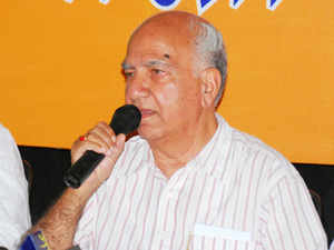 BJPtoday snubbed party veteranShantaKumar over his concerns on charges facing its state governments and demand for a 'Lokpal', saying he has been carried away by the Congress propaganda.