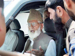 """Pakistan had engineered the induction of eight separatist groups into the hardline Hurriyat Conference headed by Syed Ali Shah Geelani in May, reflecting Pakistan's """"continued support"""" to the ageing separatist leader, the home ministry has said in a note."""