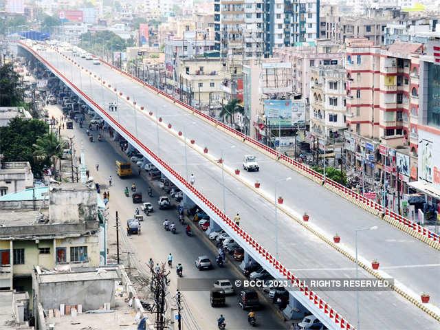 bihar s longest four lane flyover opens in patna bihar s longest