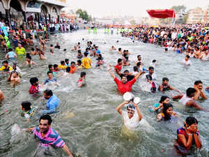 Authorities have stepped up measures to ensure security on the banks of Godavari river keeping in view the rush of pilgrims attending 'Pushkaram' festival.