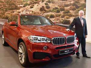 bmw india launches 39 x6 sports activity coupe 39 at rs crore the economic times. Black Bedroom Furniture Sets. Home Design Ideas