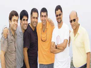 Co-founders, Inme (from left): Saurabh Saklani, 41; Puneet Palaha, 34; Gaurav Saklani, 46; Tarun Chandna, 47; Satindra Sen, 50; Brig. Trigunesh Mukherjee, 68.