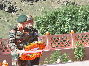 Indian Army's Northern Command today paid homage to the soldiers who lost their lives defending the country's frontiers during the Kargil war.