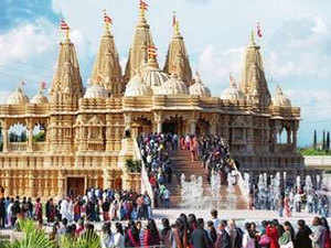 Some, like the Shri Swaminarayan mandirs in New Jersey, Atlanta, and Los Angeles, are standout monuments, costing well over $100 million each.