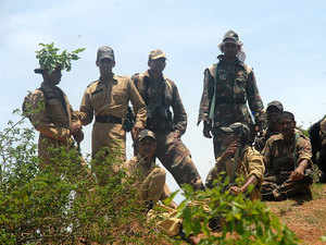 File photo: Trainees undergo rigorous at well-reputed Counter Terrorism and Jungle Warfare School at Kanker, Chhattisgarh to counter Maoists.