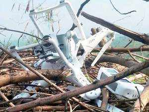 Military spokesman said the visuals retrieved out of the drone indicate that the Quadcopter flew from Indian post.