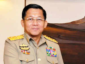The visiting Myanmarese General had also visited the Information Management and Analysis Centre (IMAC), Navy's nodal centre of National Command Control Communications and Intelligence Network (NC3I Network) yesterday.