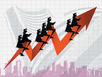 The BSE Realty index surged 2.7 per cent and was the topsectoralindex on the BSE.Unitechsoared 19.84 per cent.