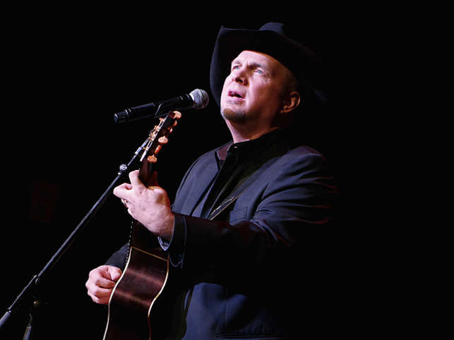 The veteran singer's comeback tour has helped Brooks come in at number one on the annual list, raking in an estimated $90 million over the past year.
