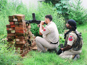 Singh's mantle was then taken over by head constable Tara Singh, who lobbed nearly a dozen grenades at the terrorists with great precision.