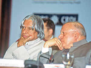 Kalam was an eager participant.