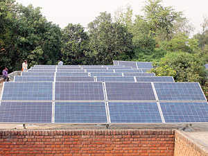 In a bid to reduce expenditure on electricity bill, Delhi Jal Board (DJB) is looking at solar energy as an alternate source of power for running its installations.
