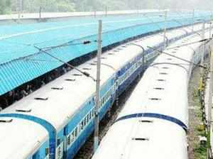 Nearly 25 passengers were so far reported injured after two trains derailed while crossing a swollen Machak river near Harda in Madhya Pradesh.