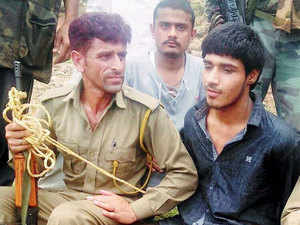 This is the first suspected Pakistani terrorist to be captured alive after Ajmal Kasab, who was nabbed during the dreaded terror attack in Mumbai in 2008.