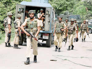 No causalities were reported in the initial firing by militants, the officer said, adding further details of the operation are awaited.