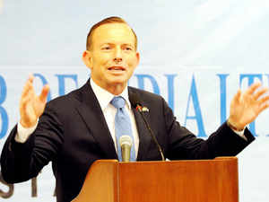 Abbott has come under attack for candidly speaking in favour of Adani's $16.5 billion coal mine project in central Queensland.