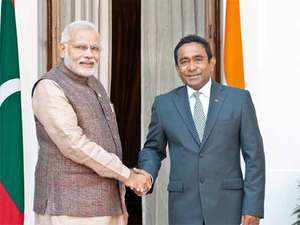 "Yameen, in a letter to Modi, also assured his government will keep the Indian Ocean a ""demilitarized zone"", official sources said."