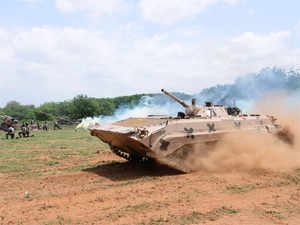 """The FRCV is planned to be developed on a modular concept so as to support the subsequent development of at least 10 different variants, including light tanks, trawls, etc.,"" the army sources said."