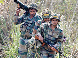 Acting on specific input about presence of militants in Ratnipora area of the district, a joint team of police and army cordoned off the area and launched a search operation, police said.