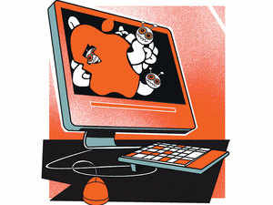 India and USA are currently holding cyber security dialogue in America with an eye on framing measures to secure cyber space with the burgeoning digital economics .