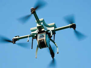 "Minister of State for Home Haribhai Parathibhai Chaudhary, said ""UAVs can be used for surveillance and may carry payloads to strike targets."""