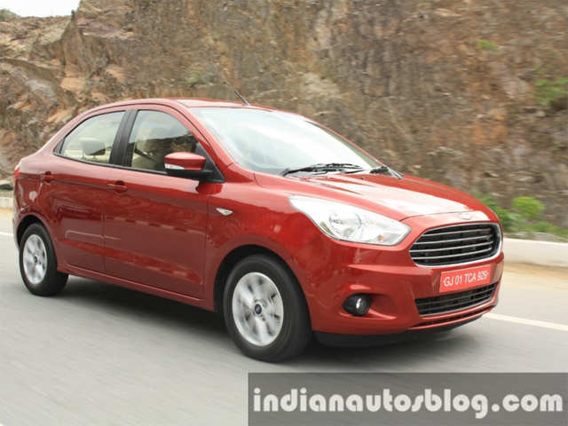 Ford Figo Aspire Launched With Starting Price Of Rs 488 Lakh