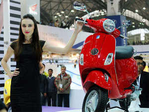 Piaggio India launches Vespa scooter in Nepal - The Economic Times