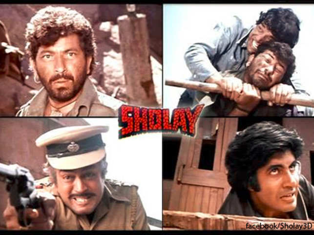 The action-adventure directed by Ramesh Sippy and produced by his father G P Sippy is a landmark film having crossed all popularity milestones. It is also one of the most-watched Bollywood film.