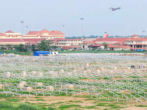 The Cochin International Airport Ltd (CIAL) is all set to become the first airport in the country to be fully powered by solar power.