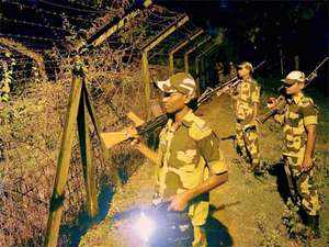 Security was beefed up all over Tripura, particularly along the 856 km long border with neighbouring Bangladesh.