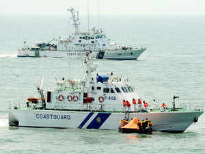File photo: Indian Coast Guard (ICG) conducted the 6th Search and Rescue Exercise (SAREX-2014), the bi-annual exercise at sea on March 20 2014.