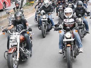 Joint Commissioner of Transport (Enforcement) Narendra Holkar has begun a drive targeting premium bikes such as Harley-Davidson.