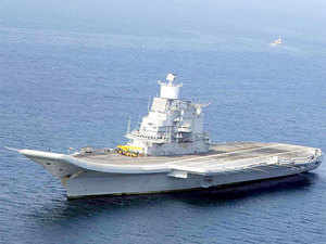 The new automatic system was installed at the harbour here a fortnight ago as part of Navy's initiatives to beef up coastal security. (Representative image of INS Vikramaditya)