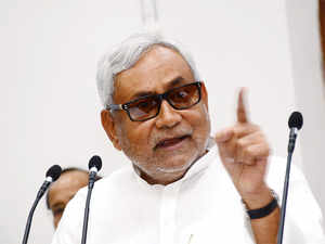 """""""The way Modi announced the package, it appeared he was bidding for Bihar from a government function,""""Nitish Kumar said."""