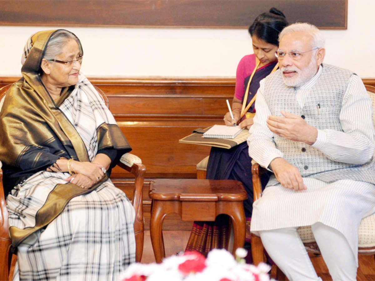 Image result for modi sheikh hasina