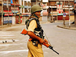 Representative image:Curfew was imposed last night after the violence broke out following which the police used batons andteargasto control the situation.