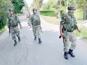 The area was immediately cordoned off and reinforcements were rushed to ensure that the hiding militants could not escape.