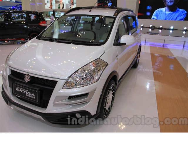 2015 Suzuki Ertiga Crossover Concept (facelifted) showcased
