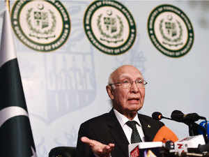 "Aziz said that since taking over the government last year, PM Narendra Modi considers India as regional power, forgetting that Pakistan is ""nuclear power""."