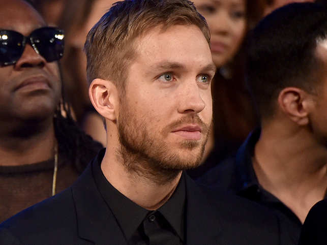 DJ Calvin Harris has topped the list of 2015 Forbes' Electronic Cash Kings for the third year in a row. The 31-year-old is worth 41.8 million pound. (Getty Images)