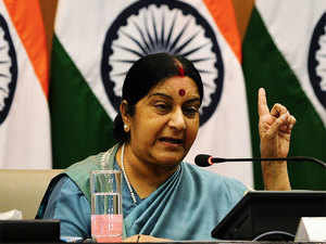 In an address to a select group of Egypt's strategic thinkers and policy makers, Swaraj talked about the threat of ISIS and that of Taliban and LeT in India's neighbourhood.