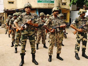 (Representative image) The six injured BSF jawans were immediately taken to the district headquarters hospital here, Inspector In-Charge, R K Das said.