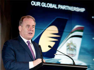 """""""Global investment is not a threat. It is both a lifeline and an energiser which can only be good for European aviation and European jobs,"""" Hogan said."""