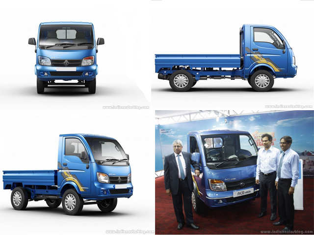 Tata Ace Mega launched at Rs 4 35 lakh - Tata Ace Mega