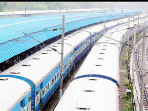 GatimanExpress, proposed to run betweenAgraand Delhi, is waiting for the green signal from the Commission of Railway Safety, a railway official said.