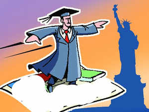Many students go abroad because they are unable to find their choice of courses locally or cannot get admission in the country's universities.