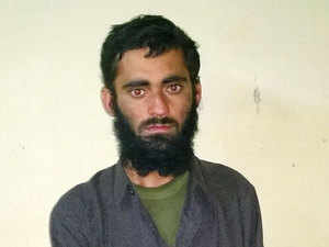 In pic: Pakistani terrorist Sajjad Ahmad alias Javed Ahmed who was captured alive by the army in an encounter in Rafiabad area of Baramulla district.