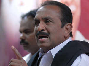 """Opposing the gifting away of a Indian Coast Guard ship to Sri Lanka, MDMK chief Vaiko said it was a """"betrayal"""" of Eelam Tamils and Tamil Nadu fishermen."""