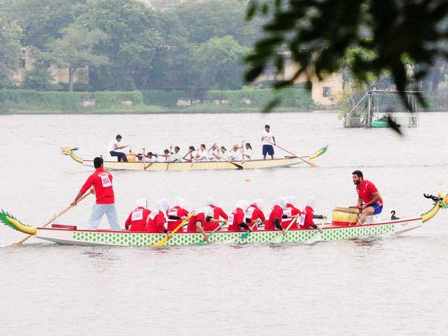 Women's 2000M Dragon Boat race event - September 1, 2015
